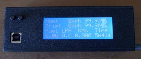 Blue Trip Meter Screen