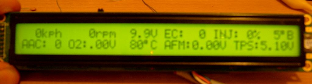 ECUTalk - Consult LCD Display