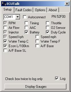 ECUTalk - Consult Software